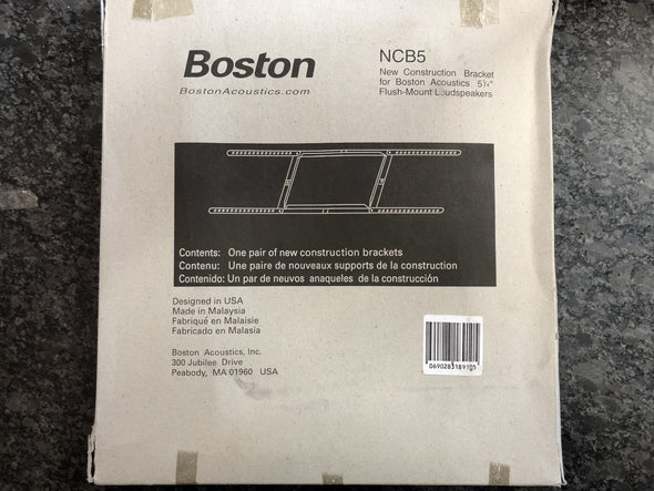 boston acoustics NCB5 new construction brackets