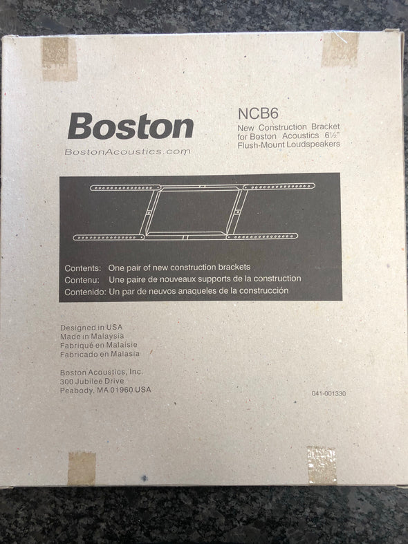 boston acoustics NCB6 new construction brackets