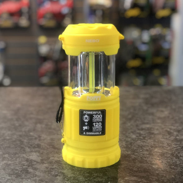 nebo poppy 300 lumens lantern and spotlight flashlight