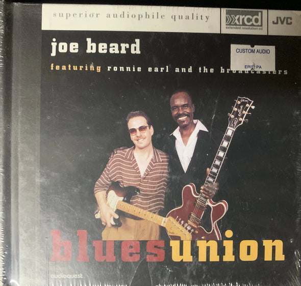 Blues Union Joe Beard ft. Ronnie Earl and the Broadcasters CD JVC