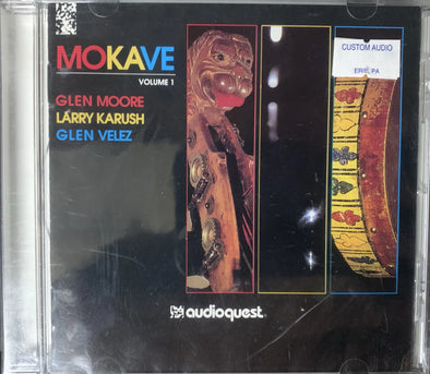 Mokave Volume 1 Glen Moore, Larry Karush, Glen Velez CD AQ-CD 1006