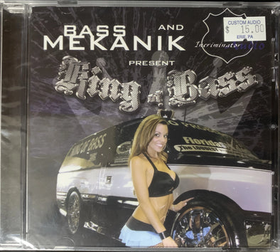 Bass Mekanik/Incriminator Audio King Of Bass CD