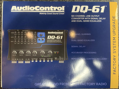 AudioControl DQ-61 Six Channel Line Output Converter