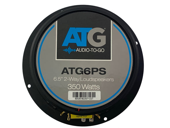 atg car speakers 6.5 powersports speakers