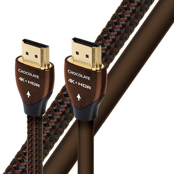 AudioQuest Chocolate HDMI Cable 4K UHD HDR 2m (6'7