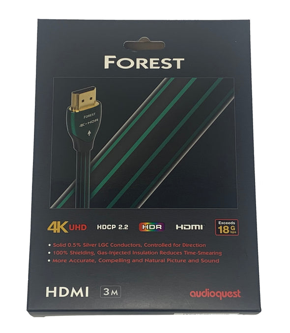 audioquest forest hdmi cable 4K UHD HDR