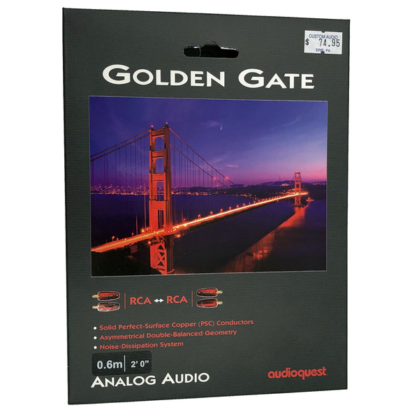 AudioQuest GoldenGate Analog Interconnect