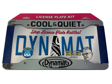 Dynamat License Plate Kit #19100