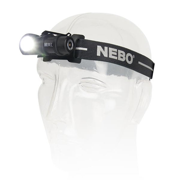 Nebo Rebel Rechargeable LED Headlamp and Task Light #6691