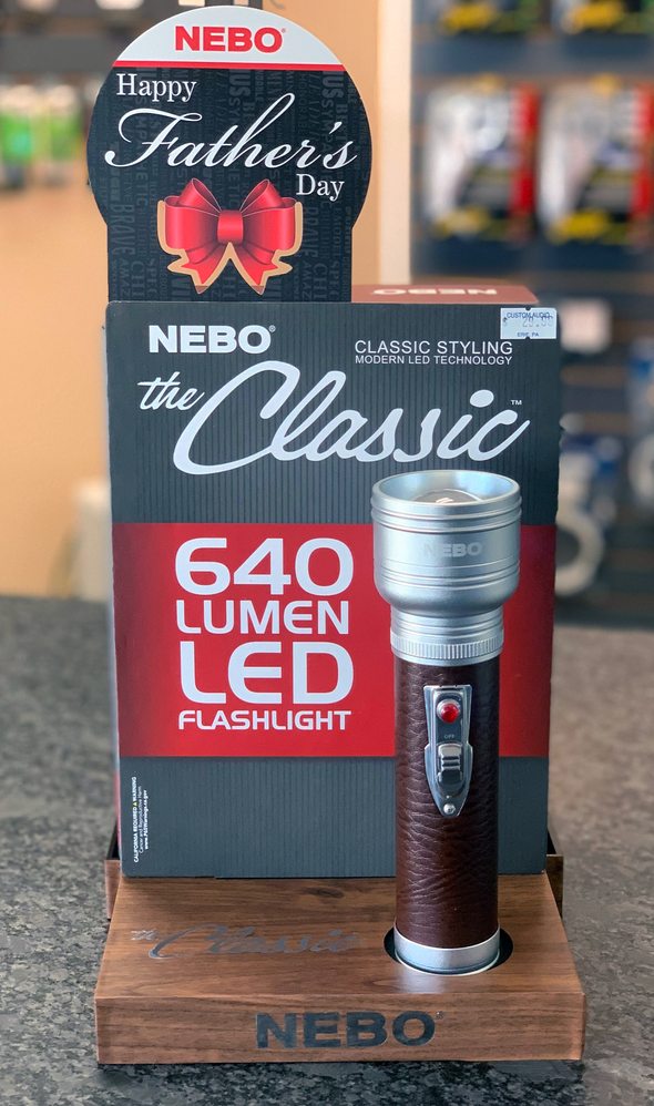 Nebo The Classic 640 Lumens Flashlight LIMITED EDITION Display Model