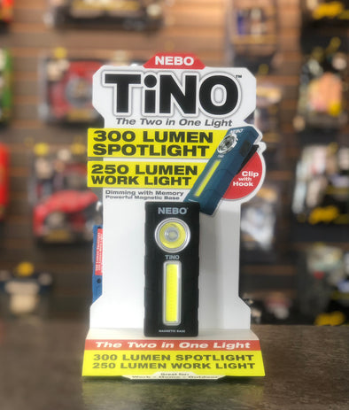 nebo tino 300 lumens pocket flashlight