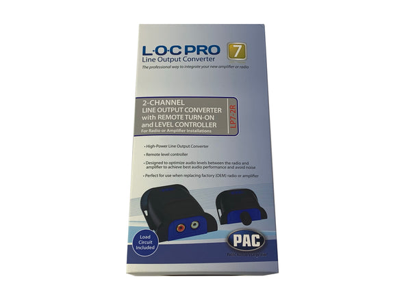 pac lp7-2r line output converter and level controller