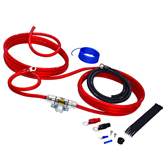 stinger sk4241 4000 series 4 gauge amplifier wiring kit