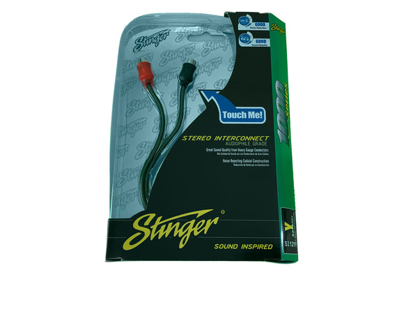 stinger si12yf y adapter rca 1 male to 2 female