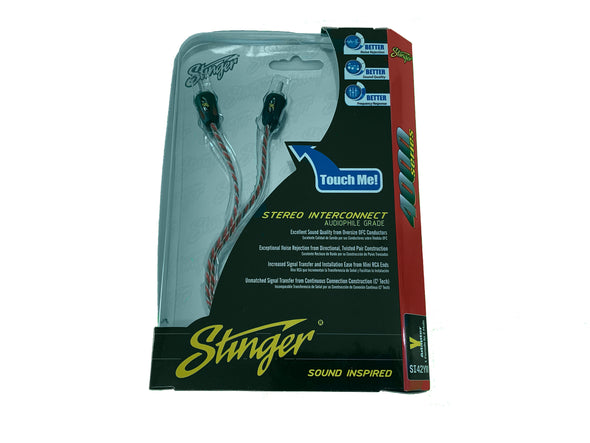 stinger si42ym y adapter rca 1 female to 2 male
