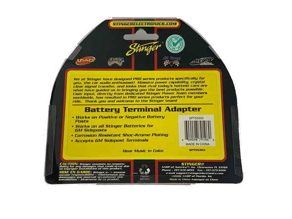 stinger spt55303 stinger battery terminal adapter