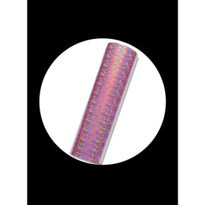 Pink - Holographic(Starlight) Permanent Adhesive