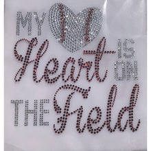 "Load image into Gallery viewer, ""My Heart Is On The Field"""