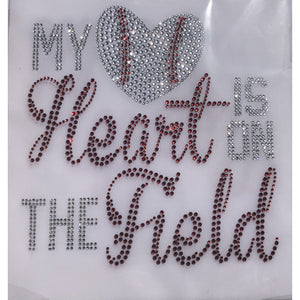 """My Heart Is On The Field"""