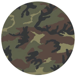 Camo(Green)- Patterned Permanent Adhesive