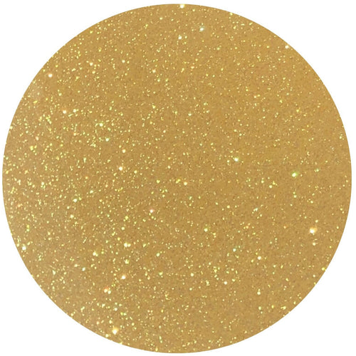 Rainbow Yellow Glitter HTV