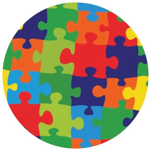 Puzzle Me This- Patterned Permanent Adhesive