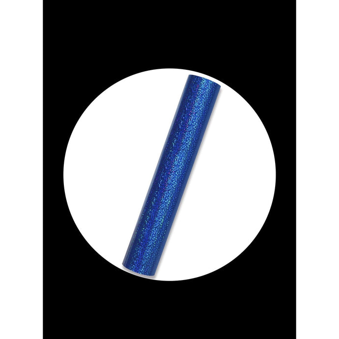Blue- Holographic(Sparkle) Permanent Adhesive