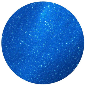Blue -Permanent  Adhesive Glitter