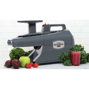 Green Star Pro Commercial Twin Gear Complete Masticating Juicer Produce