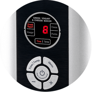 Kuvings Greek Yogurt & Cheese Maker Controls
