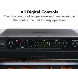 Sedona Express Food Dehydrator Digital Controls
