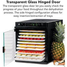 Sedona Express Food Dehydrator Glass Door