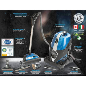 Sirena System Water Filtration Vacuum Cleaner Info