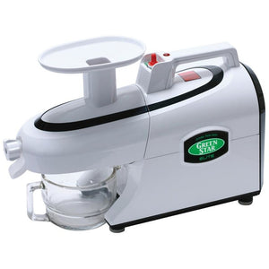 Green Star Elite Twin Gear Juicer White
