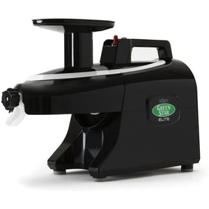 Green Star Elite Twin Gear Juicer Black