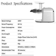 Hurom Chef Juicer Specifications