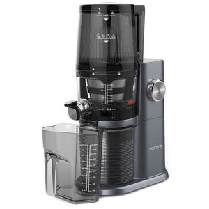 Hurom H34 One Stop Juicer Midnight Blue Set Up
