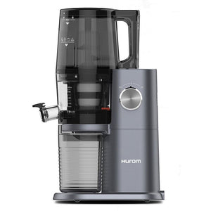 Hurom H34 One Stop Juicer Midnight Blue Side