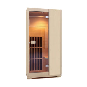 Zen 'Brighton' Infrared Sauna Natural