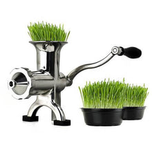 Manual BL30 Juicer - Stainless Steel Wheat Grass