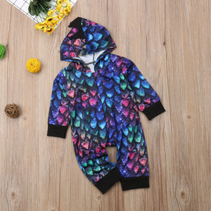 Dinosaur Jumpsuit For Babies
