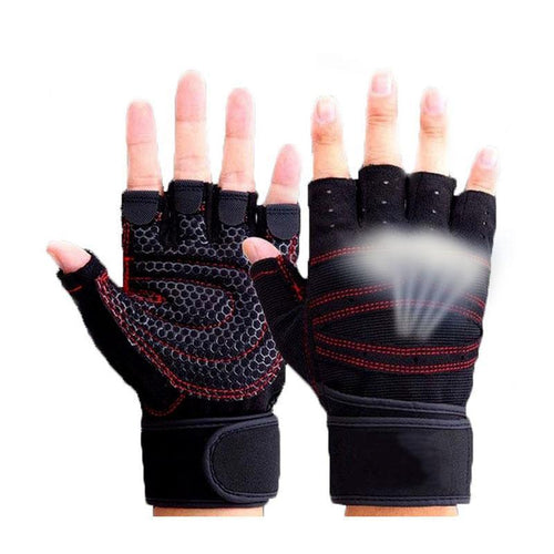 Half Finger Heavyweight Gym Gloves
