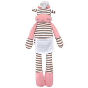 Apple Park - Farm Buddies Chef Cow Plush Toy