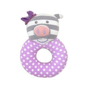 Apple Park - Farm Buddies Penny the Piggy Teething Rattle