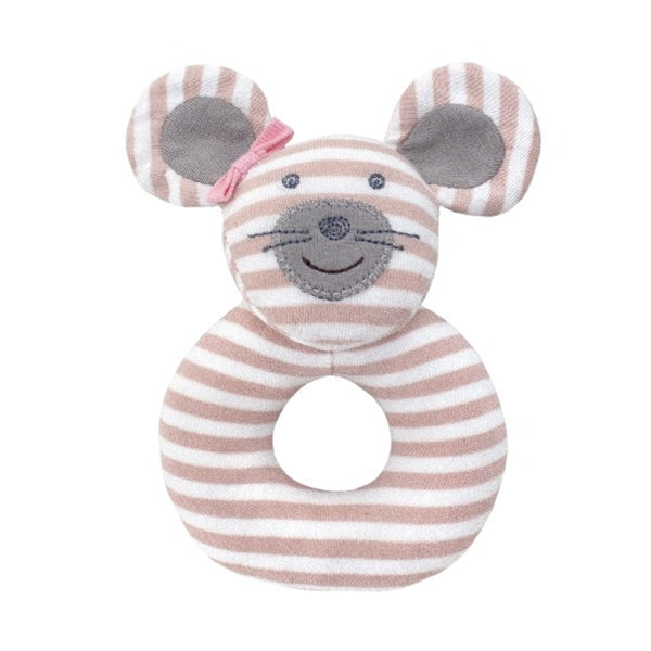 Apple Park - Farm Buddies Ballerina Mouse Teething Rattle