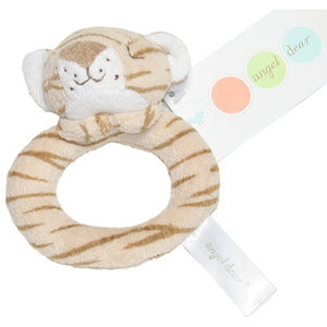 Angel Dear - Ring Rattle - Brown Tiger