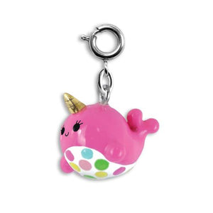 CHARM IT! - Pink Narwhal Charm