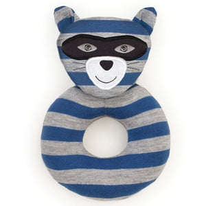 Apple Park - Farm Buddies Robbie Raccoon Teething Rattle