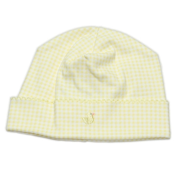 Kissy Kissy - Homeward Gingham Hat - Chicks