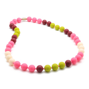 Chewbeads - Bleecker Necklace - Punchy Pink